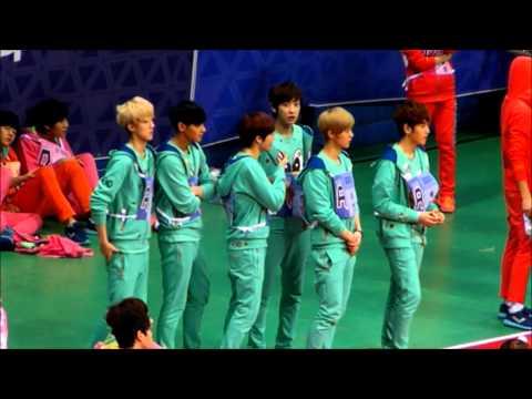 130128 아이돌 스타 육상&양궁 선수권 대회 EXO 2