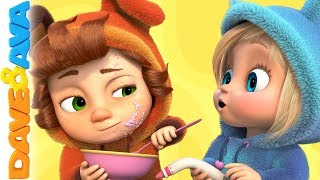 🍫Nursery Rhymes & Kids Songs | Dave and Ava 🍫