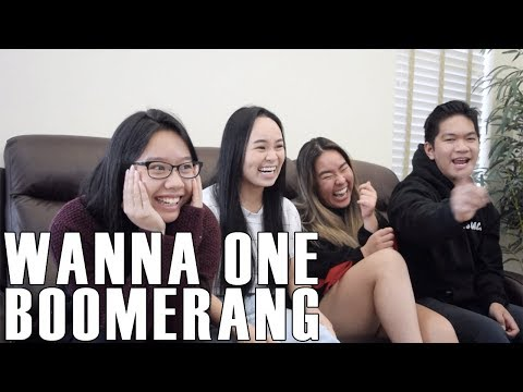 Wanna One (워너원)- Boomerang (Reaction Video)