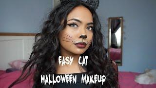 GRWM - Easy Cat Halloween Makeup