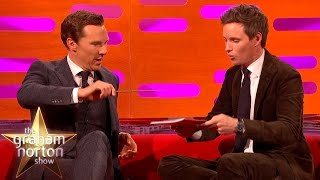 Eddie Redmayne and Benedict Cumberbatch Do Magic Tricks - The Graham Norton Show