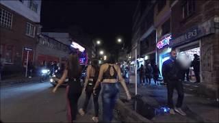 Prostitution in Mexico City's antros (nightclubs)  Gopro Hero 6 Night & Sound Test