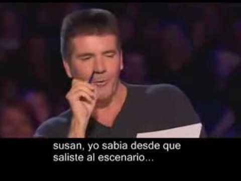 Susan Boyle Casting Impresionante y Conmovedor Subtitulado en Español IMPERDIBLEl