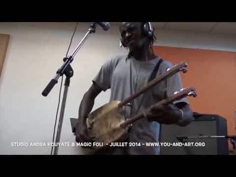 Andra Kouyaté - rehearsal for new project.... coming soooooooon
