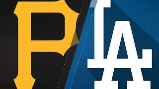 Dodgers use 6 homers to power past Pirates: 7/3/18