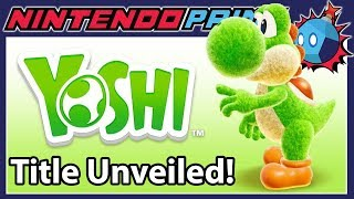 Yoshi Switch's Title is Leaked by Nintendo of America