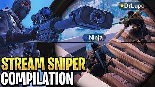 Best Fortnite 'Stream Sniper' Compilation! #3
