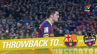 Resumen de FC Barcelona vs Levante UD (2-1) 2010/2011