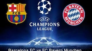 FC Barcelona vs Bayern Munich | GOALS