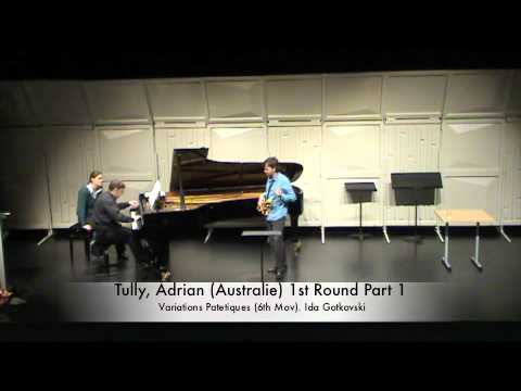 Tully, Adrian (Australie) 1st Round Part 1