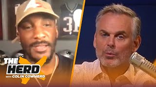 Aqib Talib on Belichick attempting to recruit him to Pats, talks Tom Brady & Brees | NFL | THE HERD