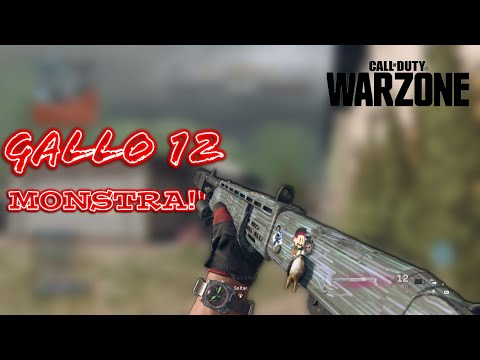 Cod Warzone - Gallo 12 Braba!!  - (Gameplay/Ps4)