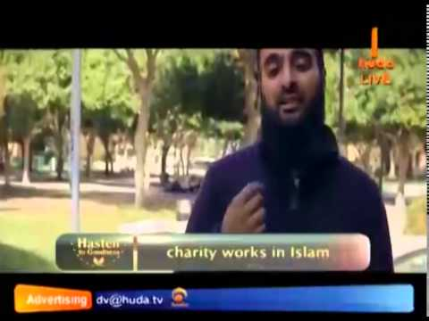 Charity works in Islam