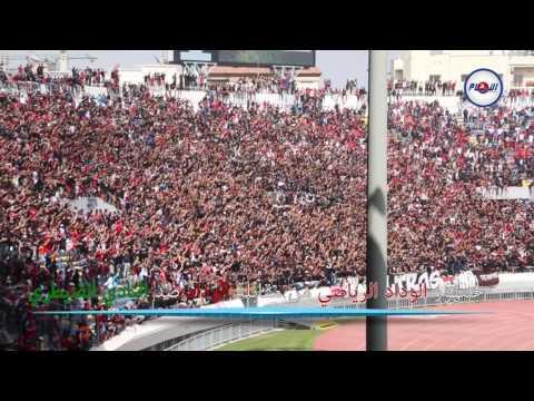 احتفالية جمهور الوداد بعد الفوز على النادي القنيطري