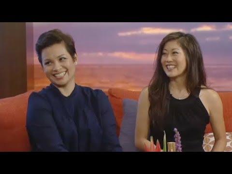 Lea Salonga and Kristi Yamaguchi Chat Golden Moment Event on Hawaii News Now