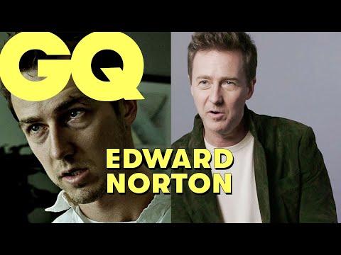 Edward Norton revient sur ses rôles les plus iconiques : Fight Club, American History X... | GQ