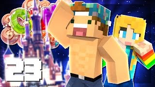 DISNEY WORLD IN MINECRAFT? (VISITING YOUR PLOTS!) | EP 23 | CandyCraft Minecraft Server