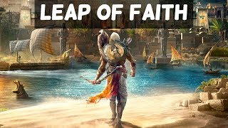 Assassin's Creed Origins Gameplay - The Leap of Faith