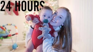 24 HOURS WITH A BABY!