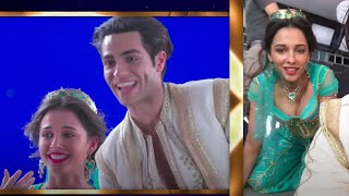 "Mena Massoud, Naomi Scott - A Whole New World (From ""Aladdin""/Behind the Scenes)"