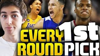 TRYING TO GET EVERY FIRST ROUND PICK! NBA 2K16 MY LEAGUE