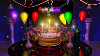 Magical Cake Animated Happy Birthday Song