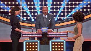 Kendall Jenner's Surprising Trump Answer - Celebrity Family Feud