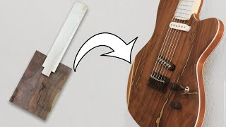 Making A Custom Guitar From Scratch