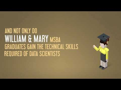 Considering a Master of Science in Business Analytics at William & Mary?