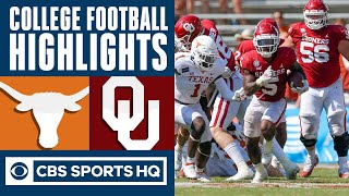 #22 Texas vs Oklahoma Highlights: OU outlast #22 Longhorns in 4OT Red River thriller | CBS Sports HQ
