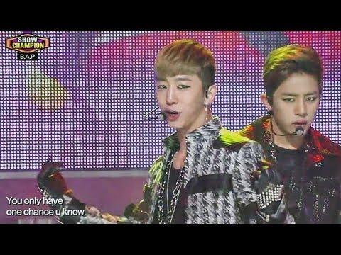 B.A.P - One Shot, 비에이피 - 원샷, Show champion 20130327