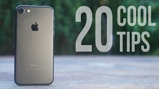 20 Cool Not-Too-Obvious iPhone 7 Tips!