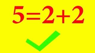 Tại sao lại có thể như vậy 2+2=5??? Không thể tin nổi   Ơ RÊ CA