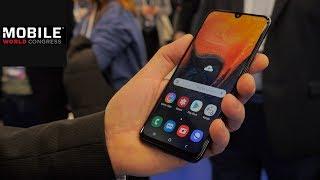Samsung Galaxy A50: Nachfolger des Galaxy A5 im Hands on