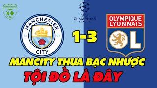 Kết quả Cup C1: Manchester City vs Lyon