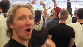 My FIRST GERMAN SOCCER GAME!! *INSANE* (with @itsConnerSully)
