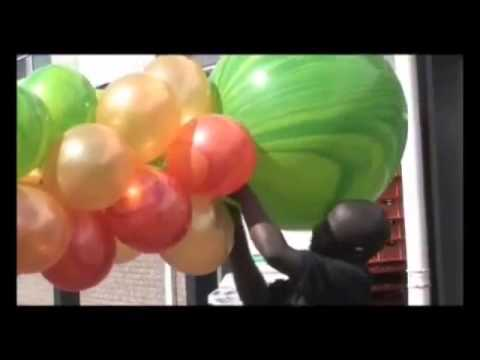 Bar Mitzvah Balloon Decorations - Decorating a Marquee