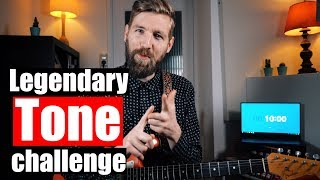TONE CHALLENGE | Recreating the BEST guitar sounds!