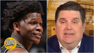 Anthony Edwards had one of the greatest shooting performances I've ever seen -  Windhorst | The Jump