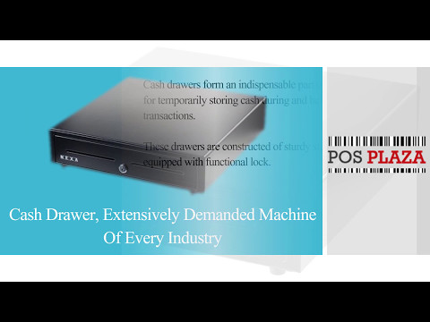 Cash Drawer, extensively demanded machine of every industry
