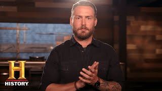Forged in Fire: NEW HOST Grady Powell is Ready for EPIC BLADE DESTRUCTION | History