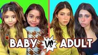 Baby FaceTime vs Adult FaceTime