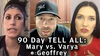 ✅😲 90 Day Fiance - Tell All : Geoffrey vs. Varya vs. Mary 😳✔