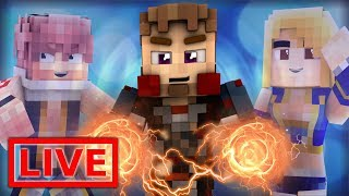 Minecraft FAIRY TAIL ORIGINS LIVE #13.1 (Minecraft Modded Roleplay)
