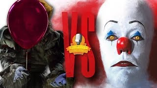 Pennywise VS Pennywise EPIC Rap Battle (Tim Curry VS Bill Skarsgard) IT | Daddyphatsnaps