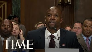 Actor Terry Crews Gives Testimony Before Senate Judiciary Committee | TIME