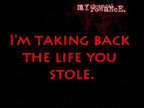 My Chemical Romance- It's not a fashion statement, it's a fucking deathwish. lyrics