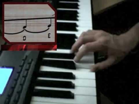 Notas al Piano - cómo identificarlas