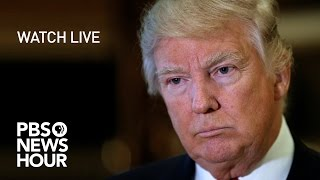 WATCH LIVE: Donald Trump's first press conference in six months