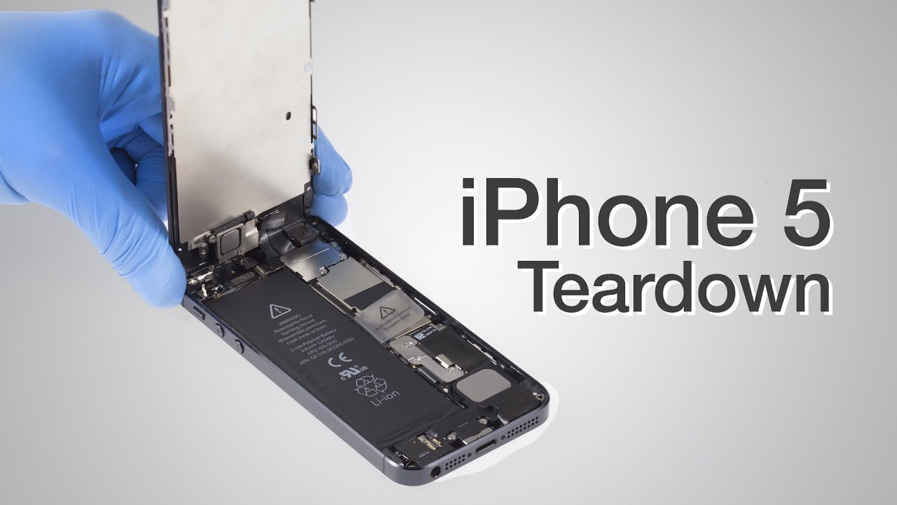 View iPhone 5 Be Disassembled
